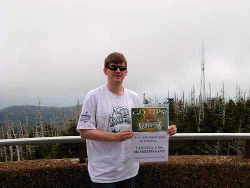 At The Summit Of Clingmans Dome