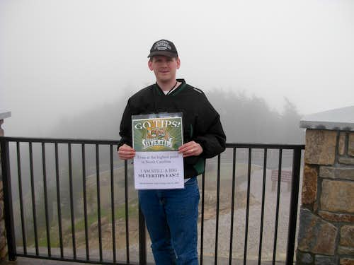 At The Summit Of Mount Mitchell