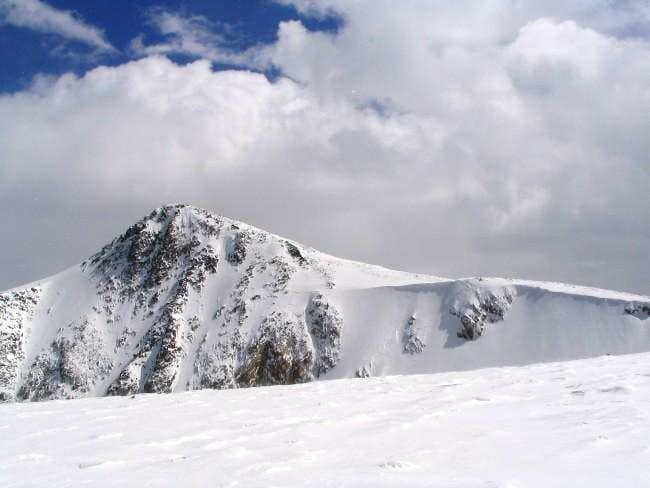 Hallett Peak as seen from...