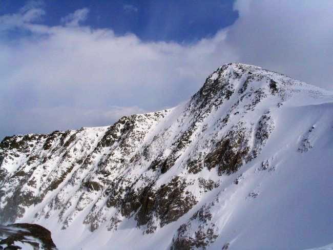 Looking at Hallett Peak's...