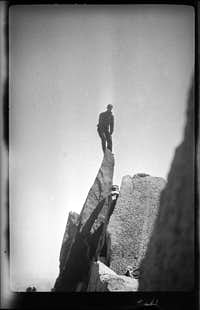 Jules Eichorn 1931 Palisades?