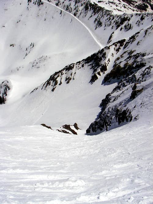 The Pipeline Couloir