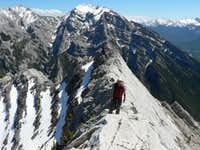 ESE Ridge of Lady MacDonald 5.5 - Kananaskis