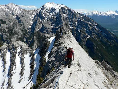 ESE Ridge of Lady MacDonald 5.5 - Kananaskis