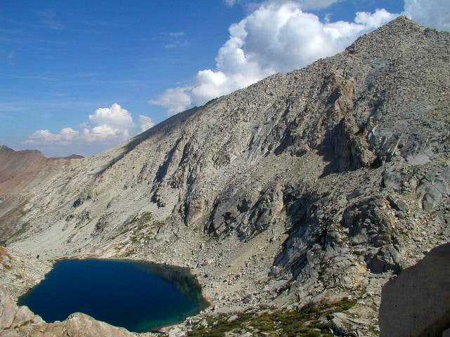 Sawtooth Peak, Upper Monarch Lake