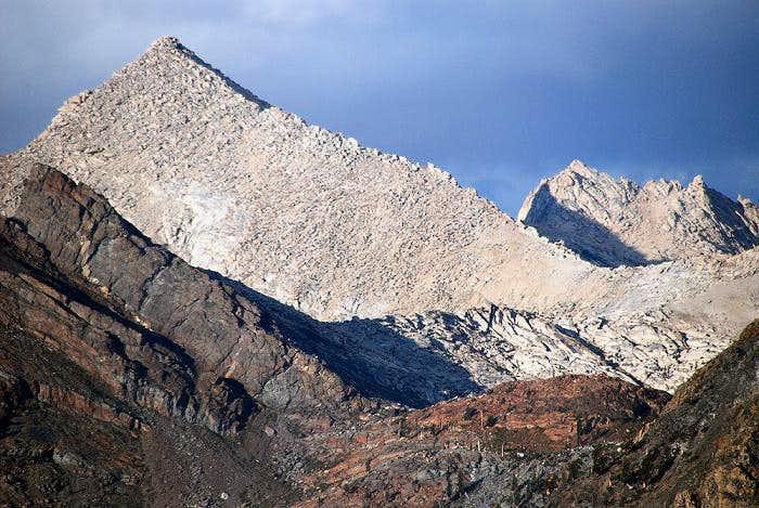 Sawtooth Peak (Mineral Peak foreground)