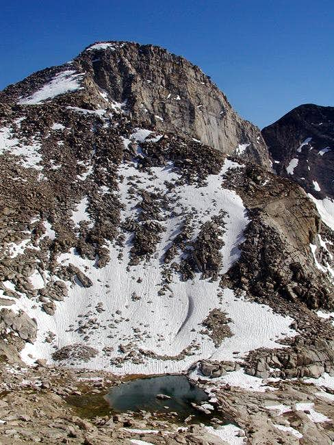 11,000 ft tarn, Florence Peak