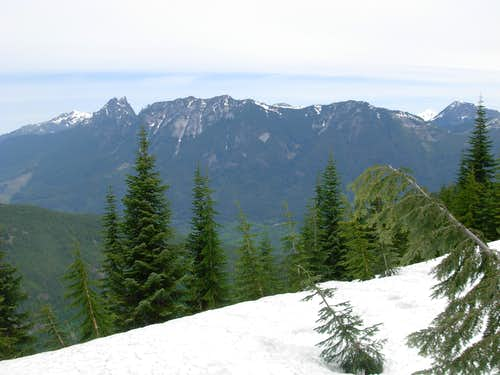 Looking North From Cleveland Mountain
