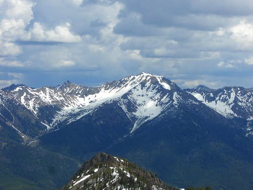 Galena Peak from Titus
