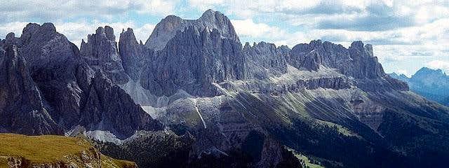 Catinaccio group - panoramic...
