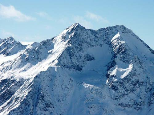 Salurnspitze seen from...