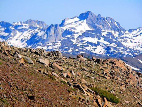 Tower Peak from White Mtn.