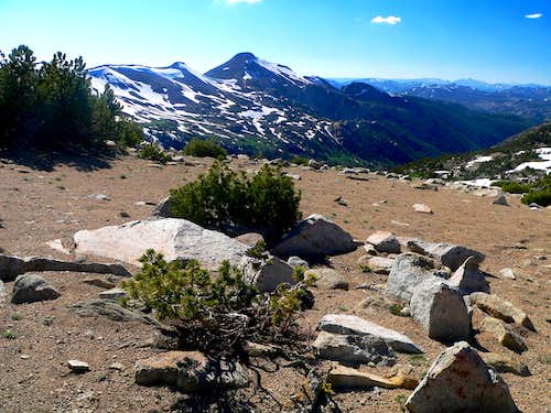 Stanislaus Peak from White Mtn. west slope
