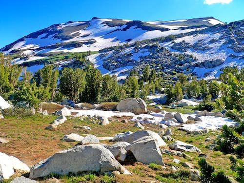 Sonora Peak east slope