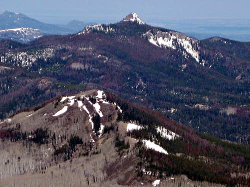 Nipple Peak from Hahn\'s