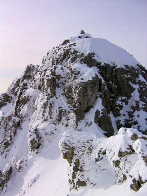 Top from cresta Sinigaglia