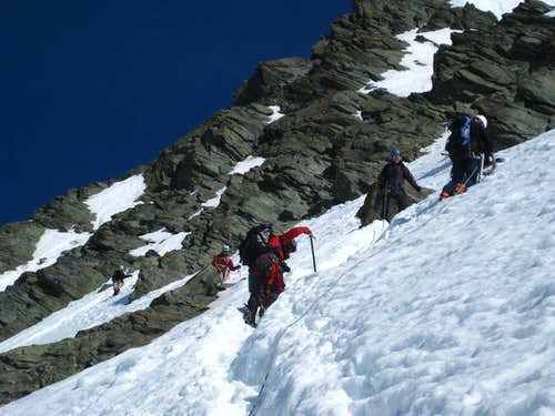 Summit couloir