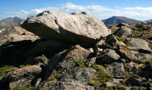 Quartzite Outcrop on Landslide Peak