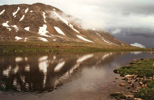 Independence Lake and Twining Peak