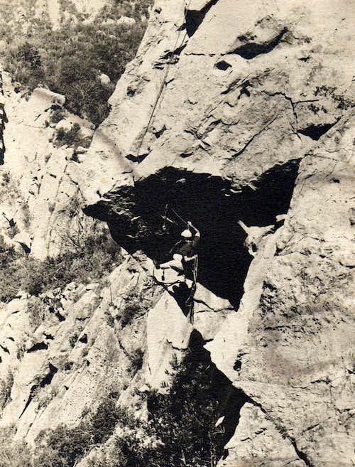 Nose of Gibraltar Rock