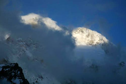 Broad Peak in Clouds
