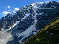 The Ortler North Face