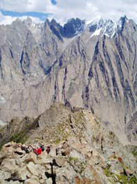 Husshe vally Rock peaks