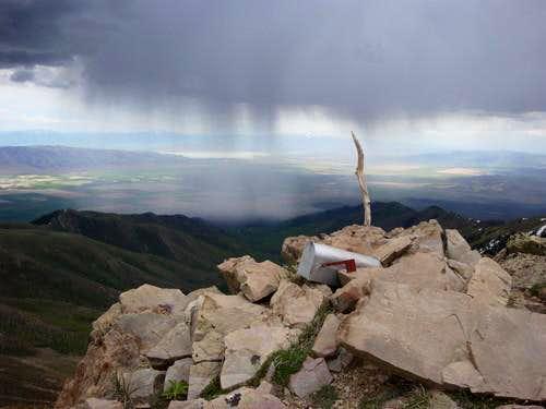 Flat Top Peak, my personal Rorschach