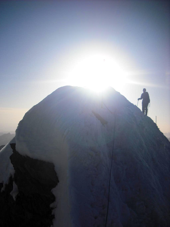 Radek is climbing Kleinglockner