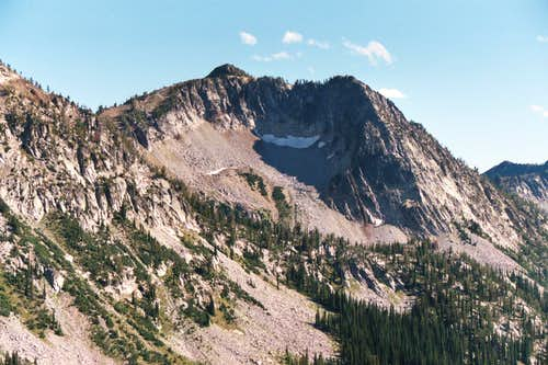 The West Buttress of Peak 8,721