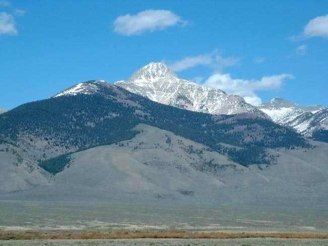 Bell Mountain from the...