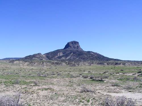 Cabezon Peak from the north