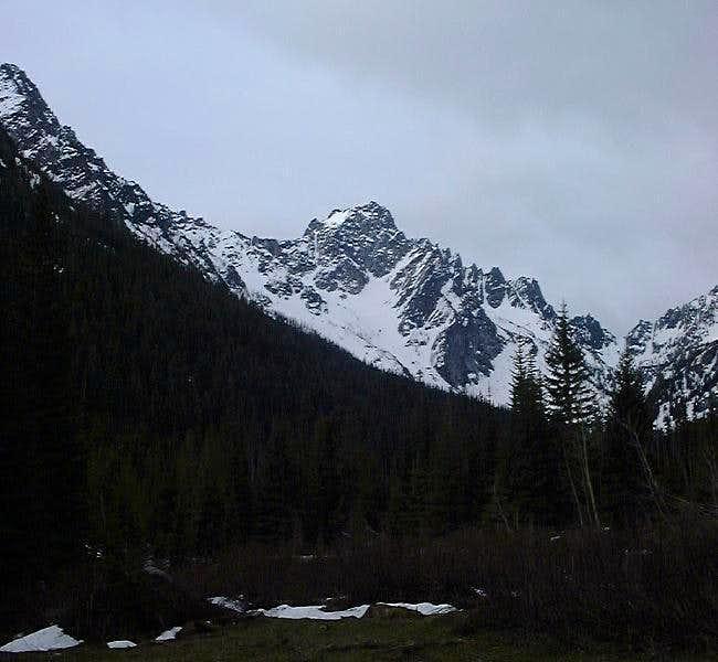 Argonaut Peak as seen from...
