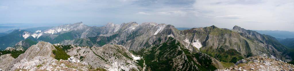 Summit view Monte Altissimo