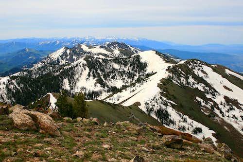 Farmington Ridge from Thurston Peak.