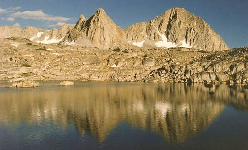 Dusy Basin Reflections