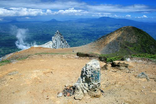 Summit of Gunung Sinabung