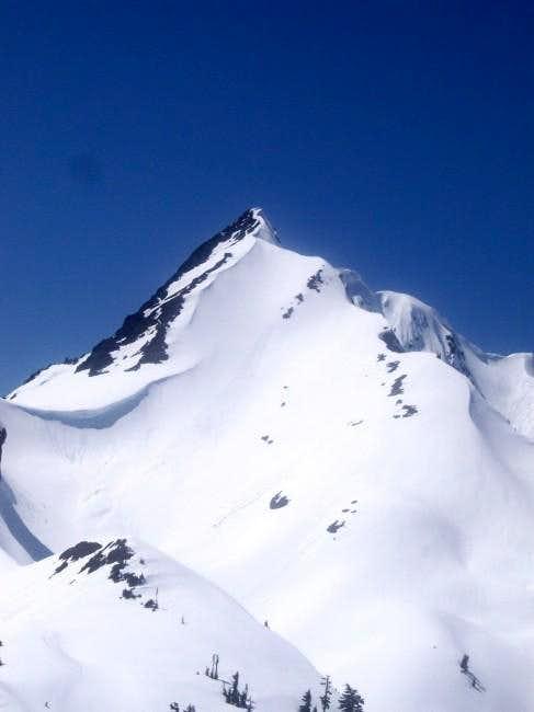 Mt Skokomish from flanks of...