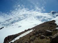 Mt. Rainier near Camp Schurman