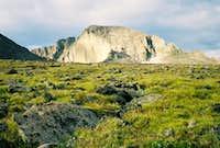 Longs Peak Approaching the Boulderfield