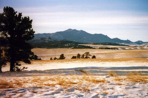 Laramie Peak in November
