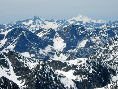 Bonanza Peak and Glacier Peak