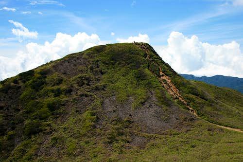 Gunung Sinabung's summit