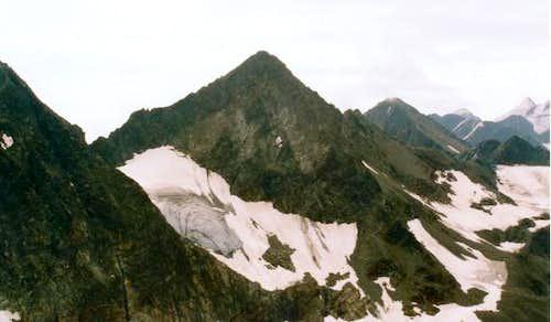 The stubaier Wildspitze see...