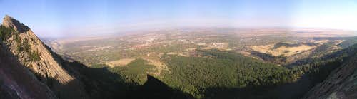 Panoramic View of Boulder