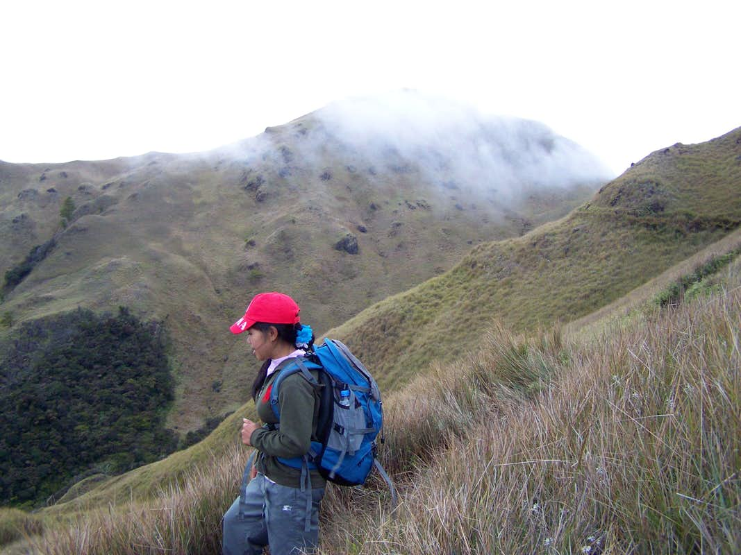Indigenous guide on Mt. Pulag