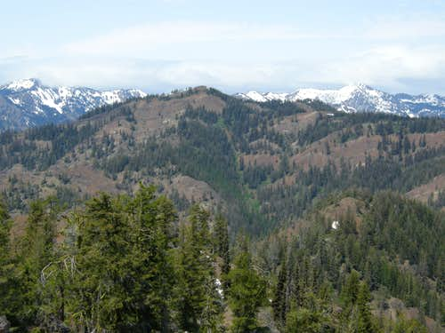 Malcolm Mountain from Johnson Mountain