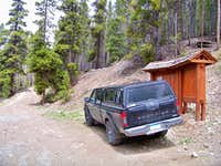 The well-hidden trailhead
