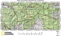 Mount Argentine Area Map