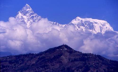 Machhapuchare and Annapurna 3...